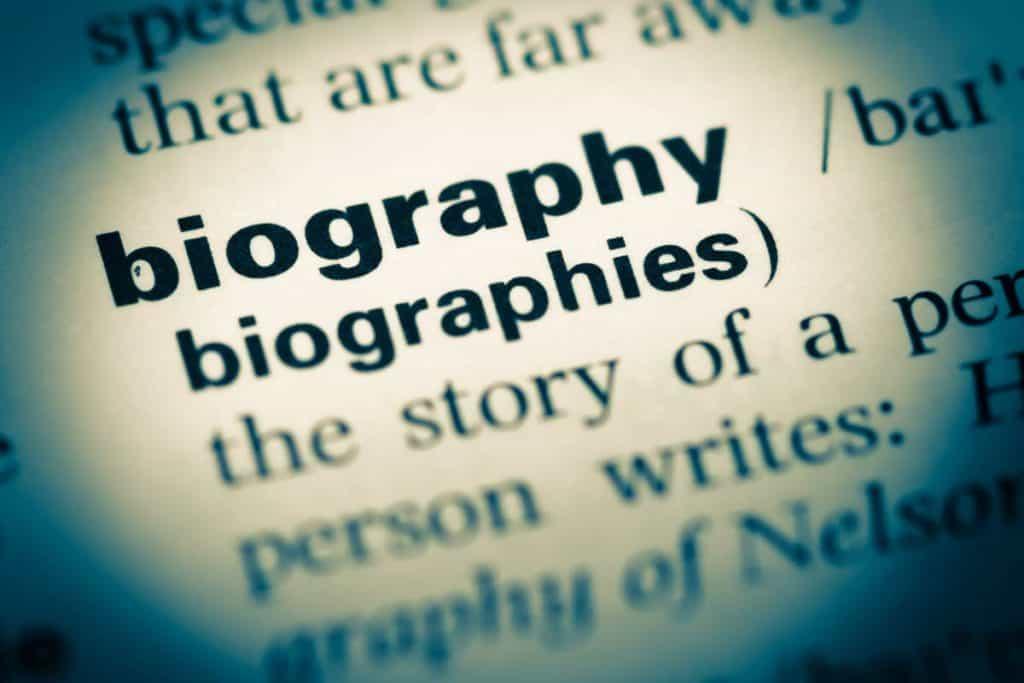 elementos de la biografia