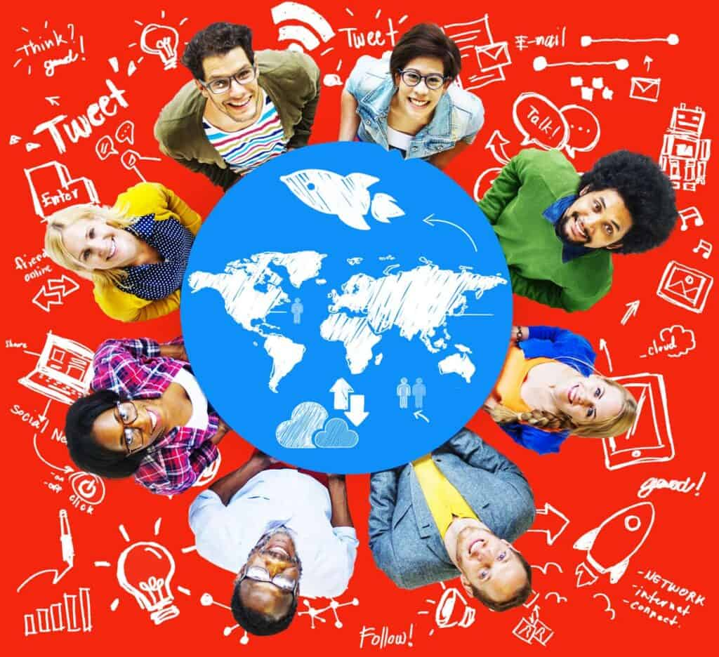ejemplos de la globalizacion social