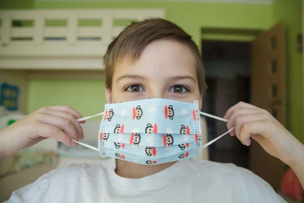 desventajas de las mascarillas para niños